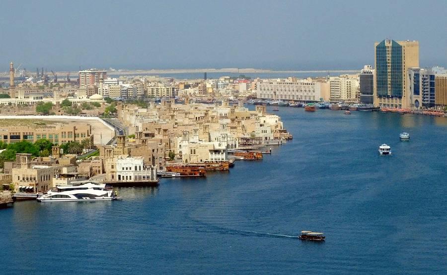 Deira and Khor Dubai