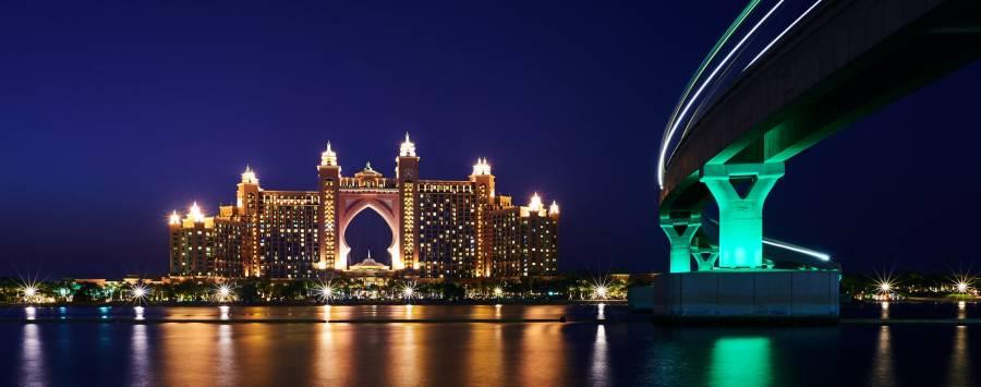 Palm Jumeirah Dubai - Atlantis The Palm Hotel Resort