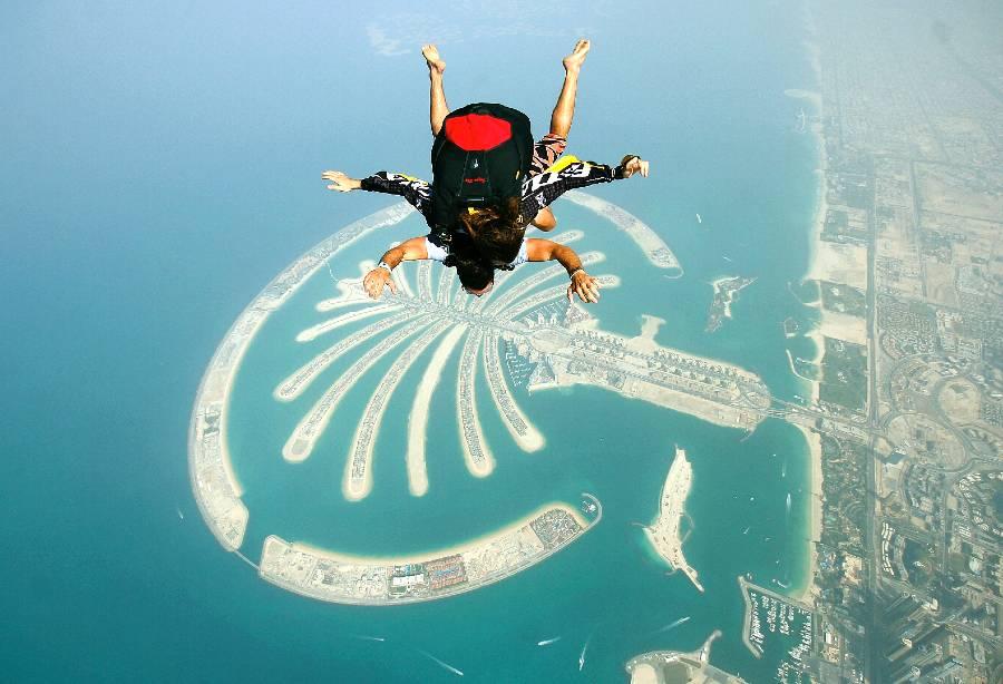 Palm Jumeirah Dubai Skydive