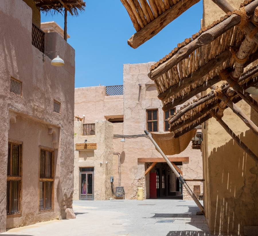 Al Bastakiya Historical District of Dubai