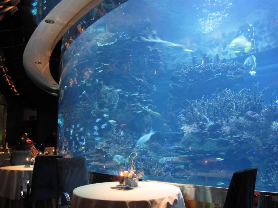 Al Mahara Burj Al Arab Restaurant Underwater Dubai