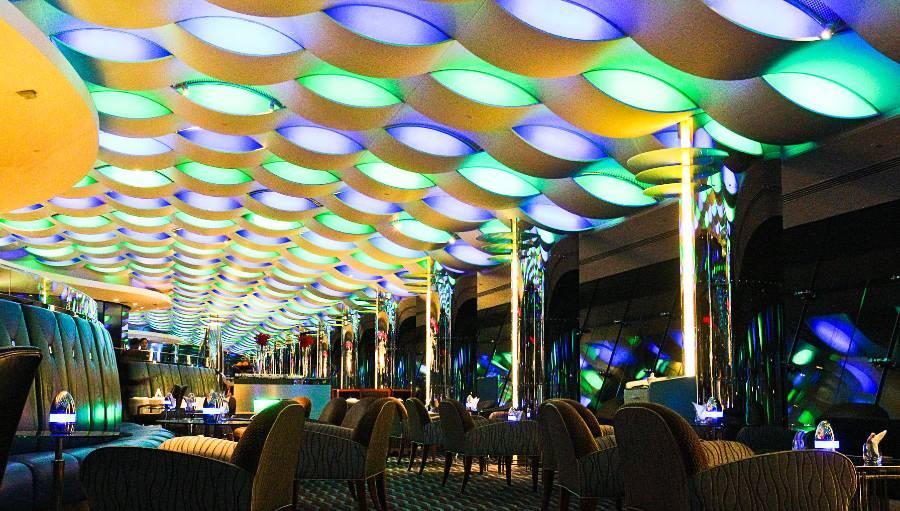 Al Muntaha Restaurant Burj al-Arab by Night