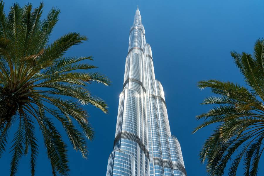 Burj Khalifa Dubai World Tallest Skyscraper