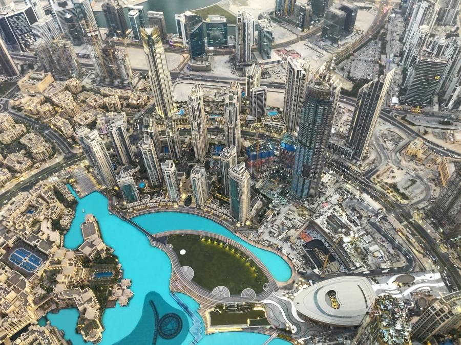 Burj Khalifa View At The Top
