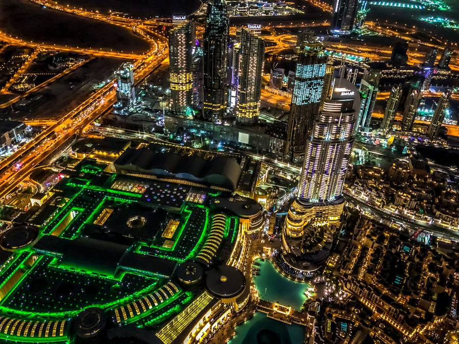 Burj Khalifa View By Night
