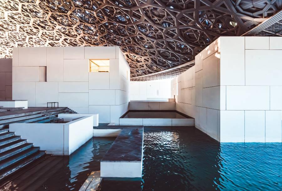 Louvre Museum Abu Dhabi Architecture