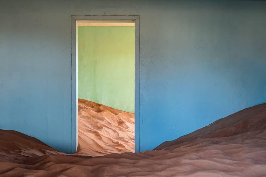 Al Madam Buried Village Desert Sand House UAE Sharjah