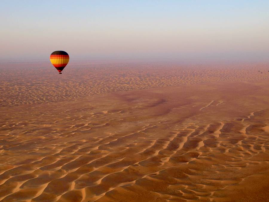 Dubai Desert Air Balloon Tour