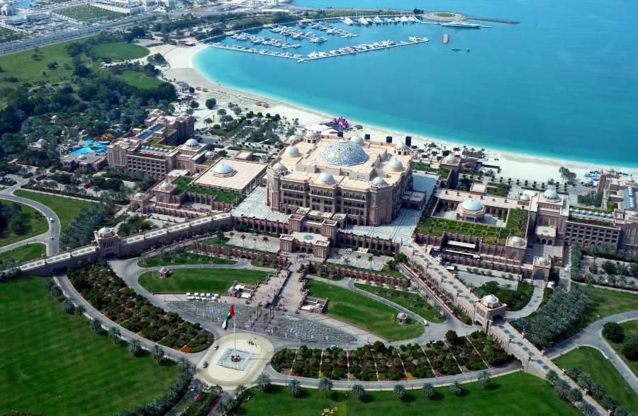 Emirates Palace Hotel 7 Star Abu Dhabi