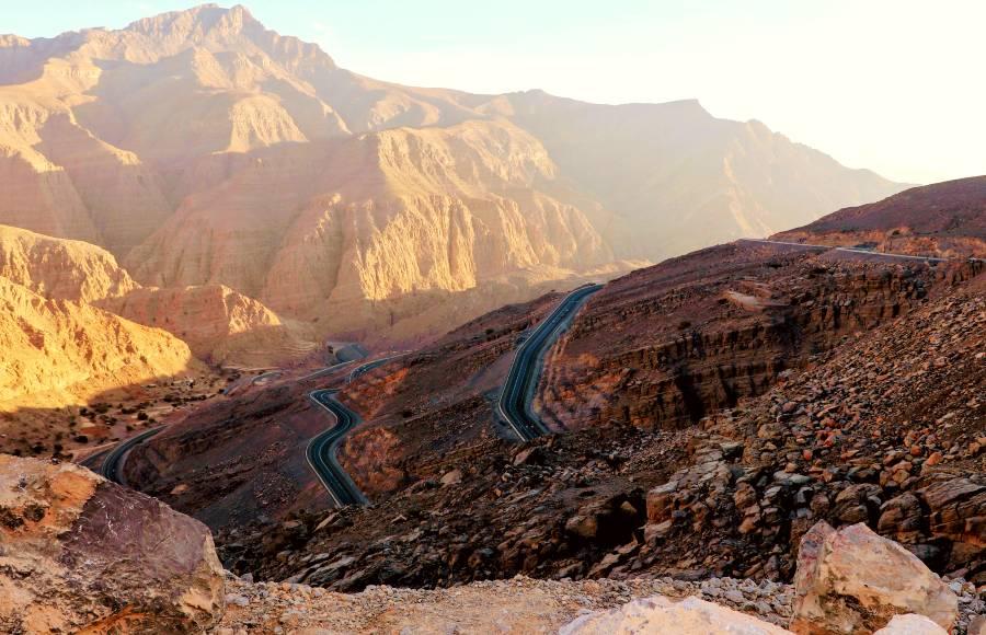 Jebel Jais RAK Ras Al Khaimah UAE Zip Line