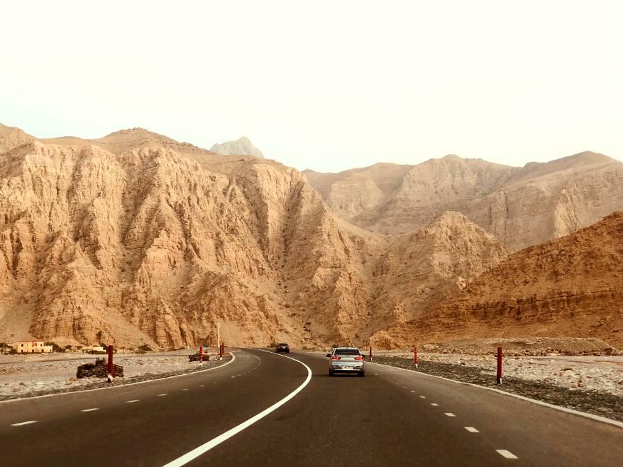 Ras al Khaimah Road Mountain