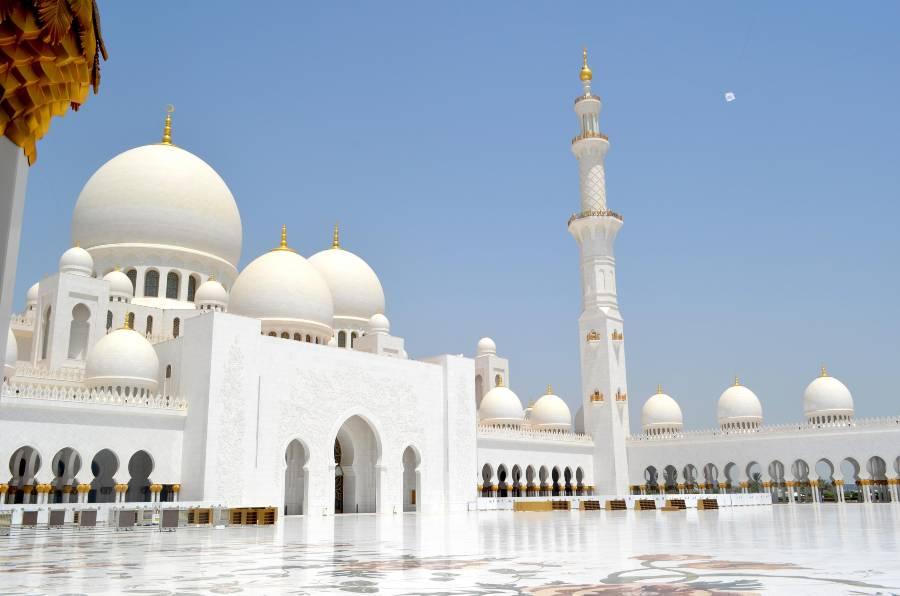 Sheikh Zayed Grand Mosque Abu Dhabi White Mosque