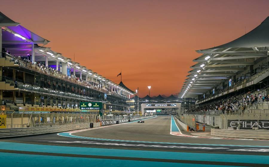 Yas Marina Circuit F1 Abu Dhabi