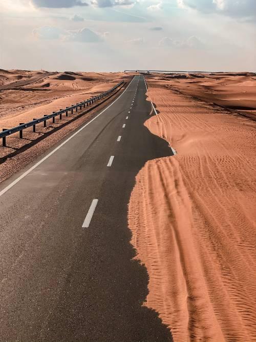 Al Ain Road Jebel Hafeet