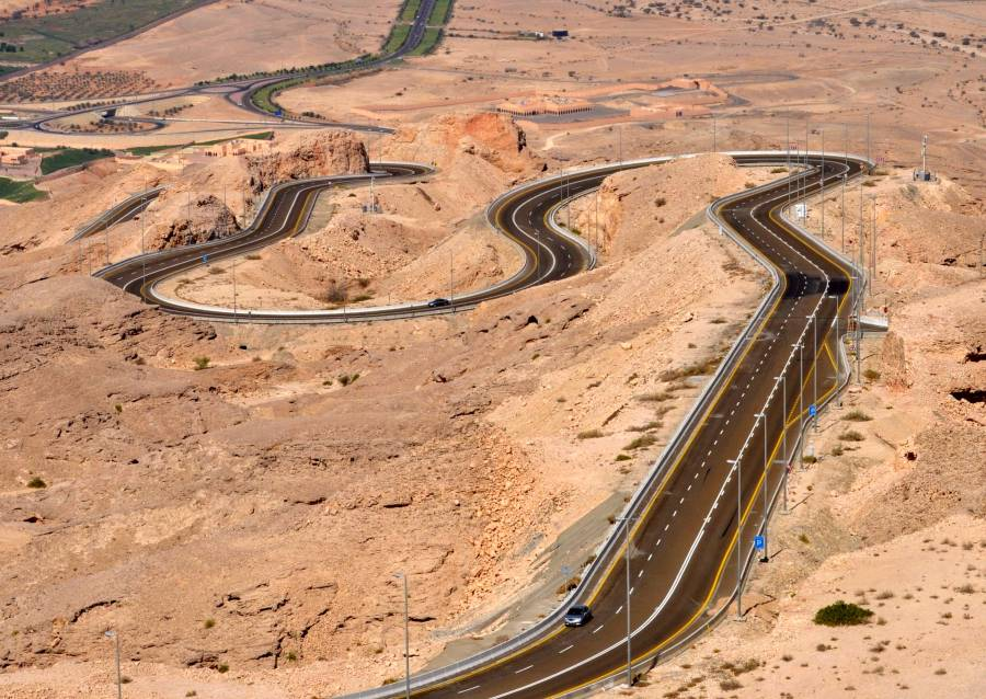 Jebel Hafeet Road Al Ain