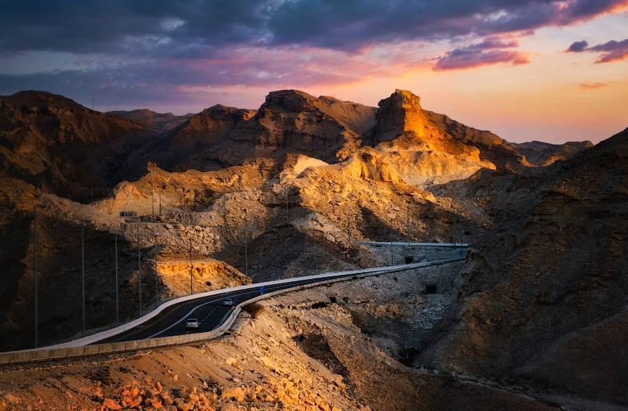 ebel Hafeet Mountain Road
