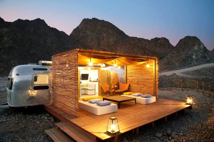 Camping in Dubai Hatta Sedr Trailers