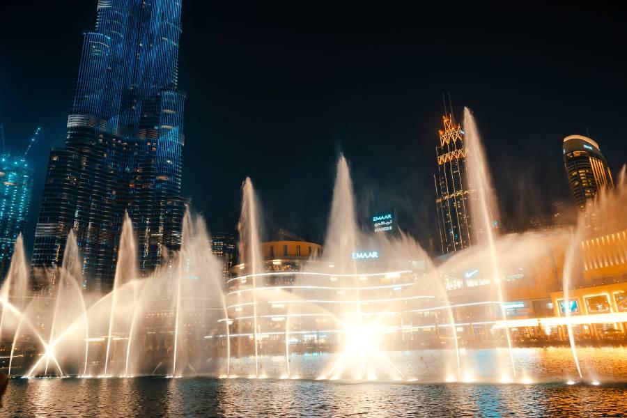 Dubai Fountain Tickets