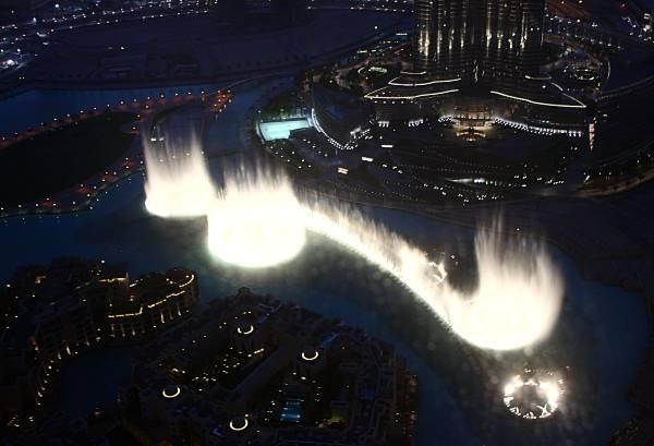 Dubai Mall Fountain